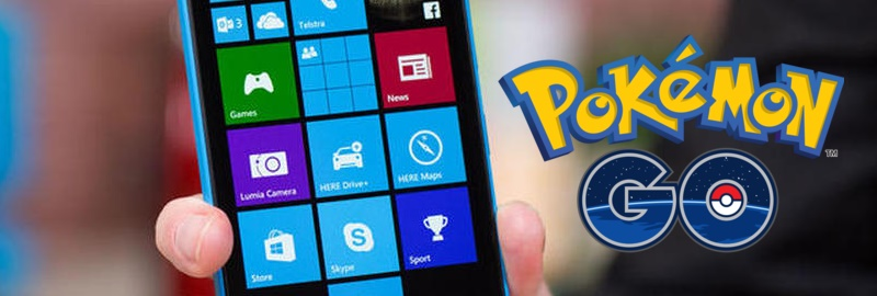 Pokemon GO для Windows Phone