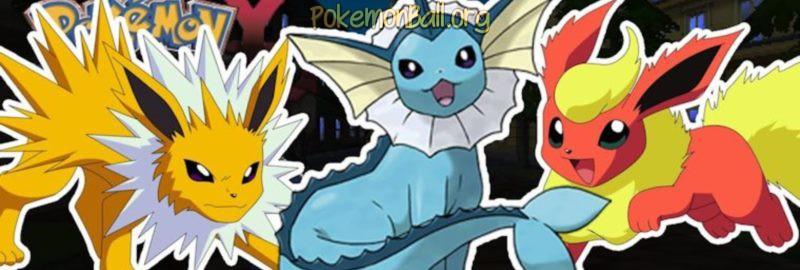 Эволюция Eevee в Pokemon Go