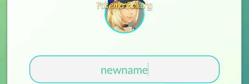 Как переименовать персонажа Pokemon GO