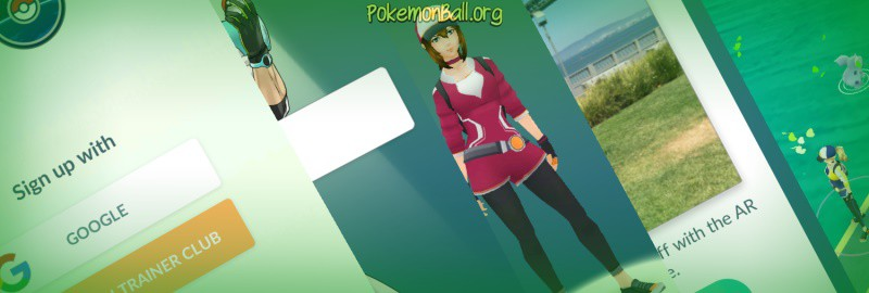 Начало игры в Pokemon GO